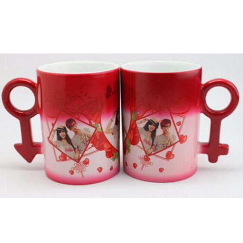 10oz Couple Color Changing Mugs(Red)